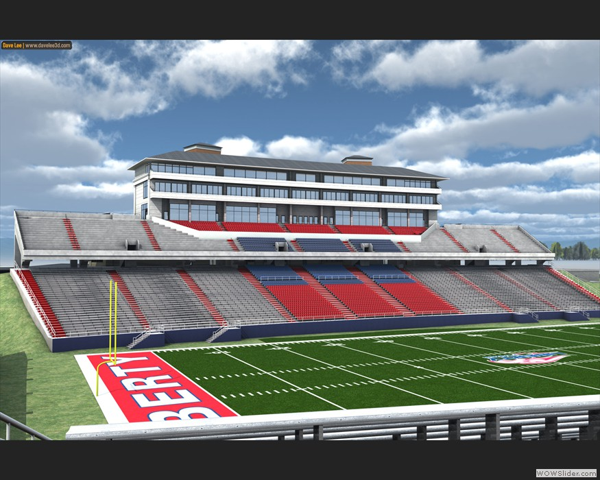 Liberty University Football Stadium (2010)